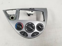 00 01 02 03 04 05 06 07 Ford Focus AC Heat Climate Control Switch w Bezel OEM