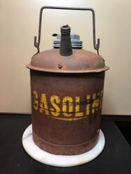 Antique Gas Can. Great Size For Vintage Motorcycle Layout