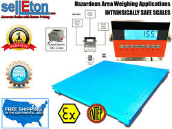 Op-906fs Ntep 60 X 60 Certified Explosion Proof Intrinsically Safe Floor Scale