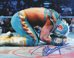 Ultimo Dragon Signed 8x10 Photo Wrestling All Japan Njpw Lucha Libre Wwe Wcw