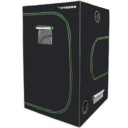 VIVOSUN Mylar Hydroponic Grow Tent with Observation Window - 48