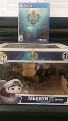 Song Of The Deep Sony Playstation 4 Game And Merryn Pop Cap Figurine. Read