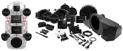 Rockford Fosgate Rzr-stage4 Stereo And Front And Rear Speaker And Subwoofer Kit