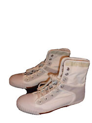 Brand New G Star Womans White High Top Tennis Shoes Size 38.