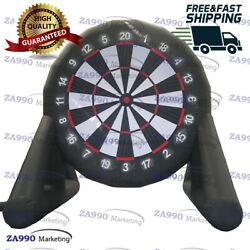 13ft Inflatable Dart Board Golf Foot Soccer Game Kick With Air Blower