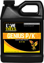 GENIUS PK Root Additive Hydroponics Nutrients Yield Bloom Booster Plant Flower