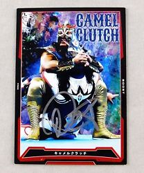 Ultimo Dragon Signed Njpw King Of Pro Wrestling Trading Card Game Liger Wcw Wwe