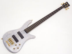 Warwick Custom Shop Streamer Stage 4st 1990 Limited Edition See Through White