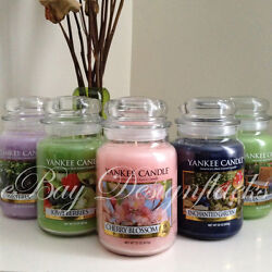 YANKEE CANDLE You Choose Scent 22oz Large Jar *Free Expedited Shipping*