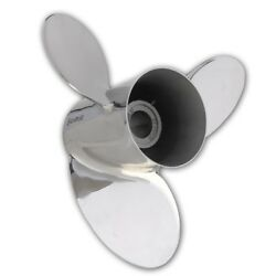 Hill Signature Pleasure Stainless Steel 3 Blade Prop 14.25 X 19 For Alpha 1