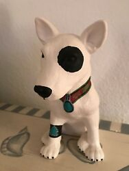 Bull Terrier Hand Painted Collectible Dog Figurine Southwestern signed Sarracino