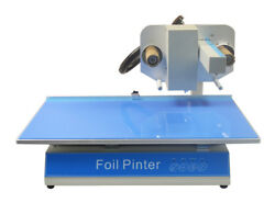 110V 150W Automatic Electric Hot Stamping & Embossing Foil Printer 300DPI New