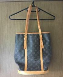 Used Louis Vuitton Tote Bag Bucket Back large