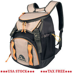 Hiking Backpack Cooler Camping Bag Lunch Pockets Pouch Camp Kayaking Food Drinks