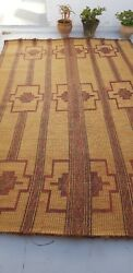 Mauritanian Leather And Straw Embroidery Matt