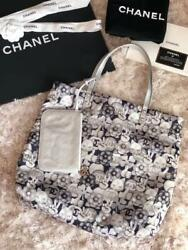 CHANEL Tote Bag Pouch A69928 Choupette Lagerfeld Cat Woman Auth New Unused Rare