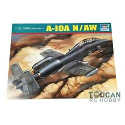 Trumpeter 02215 132 A-10A NAW Two-Seat U.S Thunderbolt II Model Plane Fighter