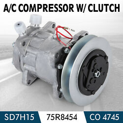 PRO AC Compressor SD7H15 R134A 4745 for 75R8454 RD5107250P HDAG Easy
