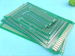 Double-side Prototype Pcb Stripboard Universal Printed Circuit Board 10 Size