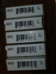 2013-s Atb Quarters San Francisco Mint Five Roll Set Wc5,wd5,we5,wef, And Wg5