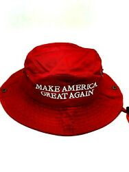 Keep America Great Bucket Fishing Boonie Hat President Donald Trump 45 2020 Make $19.99