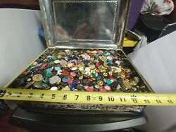15 Lbs Vintage Sewing Buttons Lot Mixture Of. Years