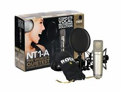 Rode NT1A Anniversary Vocal Condenser Microphone Package MultiColored