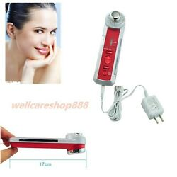 4in1 Photon Ultrasonic LED Electric Facial Massager Body Face Skin Care Beauty