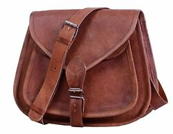 Women Leather Cross Body Shoulder Bag Purse Satchel Handbag Tote Vintage Style