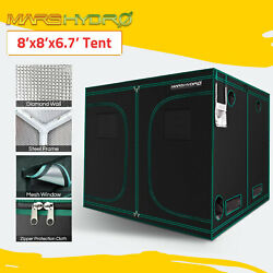 Mars Hydro 8'x8'x7'Grow Tent Kits Indoor Room 1680D Oxford Cloth Home Box Green