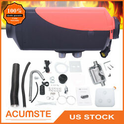 5KW Air Diesel Heater 12V Car Boat Fuel Parking Heater + Knob Switch Controller