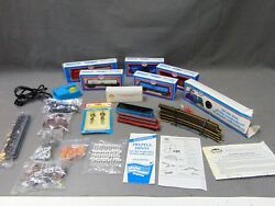 Lot Of 8 Model Power Ho Scale Precision Engineered Model Trains And Accessories