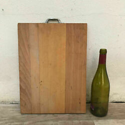 Antique Vintage French Bread Or Chopping Cutting Board Wood 3110185