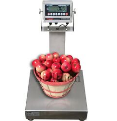 Optima Op-915ss Ntep Legal For Trade Stainless Steel Washdown Bench Scale