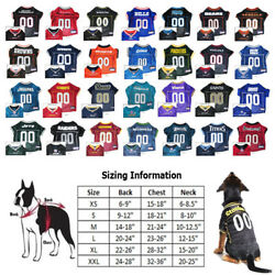 Nfl Football Licensed Pet Dog Jersey Choose Your Team And Size - Xs-2xl Xxl