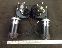 Jazzy Wheelchair Motor Gearboxes /large Rc Lawnmower Robotics 12-24vdc Electric