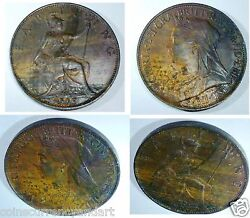 1895 Great Britain Farthing Uncirculated . Key Date And High Value In Catalogues
