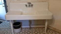 Farmhouse Sink 60andrdquo Long 21.5andrdquo Wide 18andrdquo Tall Will Deliver Within 50 Miles