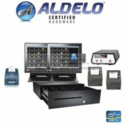 Aldelo Pro Pos All In One Restaurant Pos System Kitchen Printer Caller Id I5 8gb