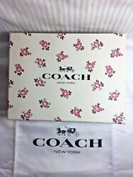 New COACH FLORAL BLOOM CELL PHONE CROSSBODY BAG PURSE WALLET in GIFT BOX