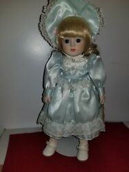 1984 Gorham Petticoats And Lace Porcelain Doll Beverley