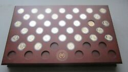 Danbury Mint Presidential Dollars Coin Collection-uncirculated-481 Total Coins