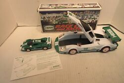 2009 Hess Race Car And Racer Hess Truck Gas Station Promo