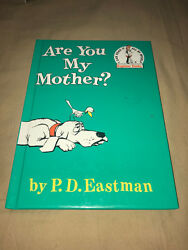 Are You My Mother PD Eastman Dr Seuss Suess Hardcover Learning To Read Kid Book