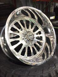 24x12 Specialty Forged Wheels Rims 8x170 Ford F-250 F-350  IN STOCK SHIPS TODAY