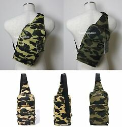 * A BATHING APE Goods Men's BAPE x PORTER 1ST CAMO ONE SHOULDER BAG 2colors New