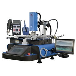 Ly Hr560c Bga Rework Station 3 Heating Zones Hot Air Built With Soldering Iron