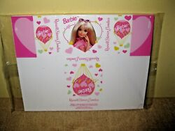 Vintage Cardboard Russell Stover Candy Box Barbie Heart Unused 1997 Rare