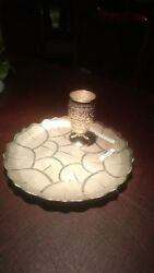 Sterling Silver Goblet Tray From Madras India