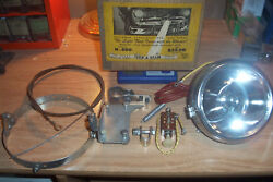 Very Rare Turn-a-beam Automatic Spotlightturns With The Wheelsford 1949-1950